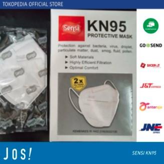 Foto Produk Masker SENSI KN95 PROTECTIVE MASK 5PLY 20pc / SENSI KN 95 5 PLY MURAH - KN95 SENSI 20pc dari J O S