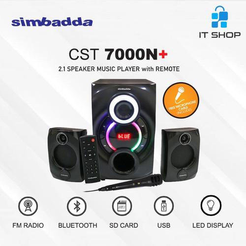 Foto Produk Simbadda Speaker CST 7000N+ dari IT-SHOP-ONLINE