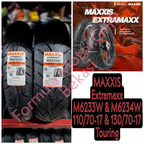 Foto Produk Sepasang Ban Maxxis Extramaxx 110/70-17 & 130/70-17 Free Pentil dari FMGHP