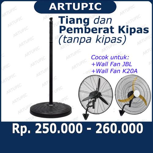 Foto Produk Tiang dan Pemberat Kipas Angin Dinding Wall Fan ARTUPIC JBL K20A DLL dari ArtupicPeralatanPeternak