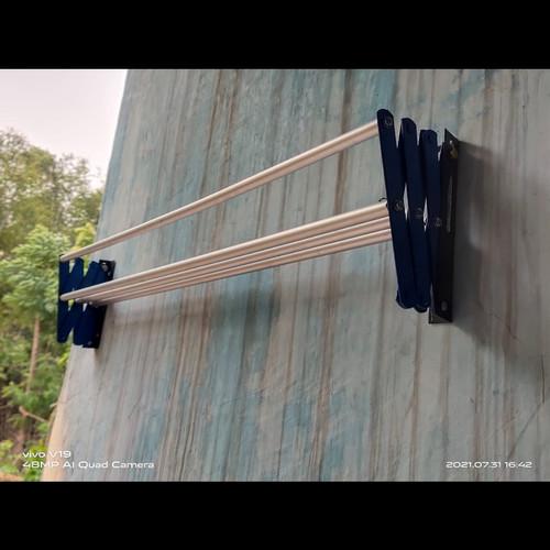 Foto Produk Jemuran serbaguna Lipat Gantungan baju tempel dinding hanger murah dari AL Grosir