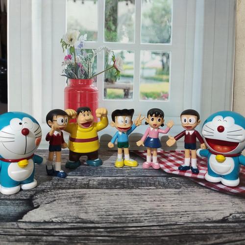 Foto Produk Pajangan Doraemon and Friends dari Jualandiinternet
