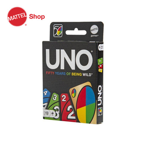 Foto Produk UNO 50th Anniversary Edition - Permainan dari Mattel Shop