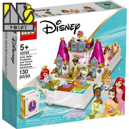 Foto Produk LEGO 43193 - Disney - Ariel, Belle, Cinderella and Tiana's Storybook dari Ins Point