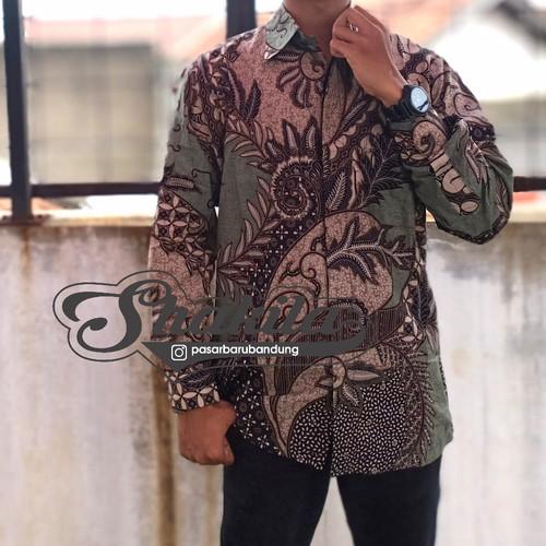 Foto Produk batik pria lengan panjang - g, xxxl dari Shakila-Shop
