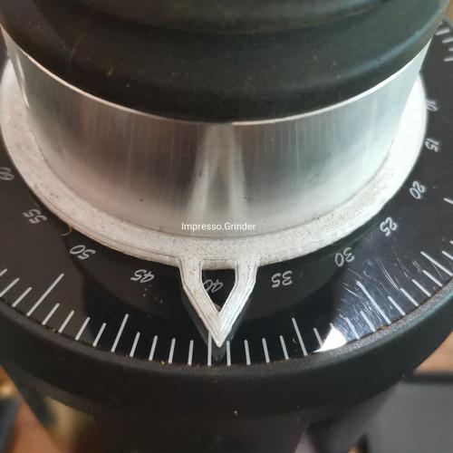 Foto Produk Dial Indicator Impresso Push DF64 - penunjuk angka khusus Grinder DF64 dari Toko Rok Presso