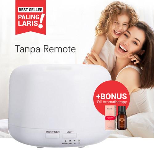 Foto Produk Taffware Aroma Diffuser Humidifier Elektrik + 7 LED - HUMI H770 - Tanpa Remote dari Oxyto ID