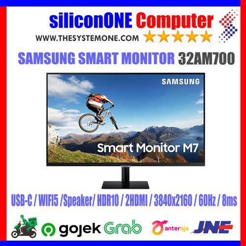 "Foto Produk Samsung 32"" 32AM700 Smart 4K USB-C 2HDMI WIfi5 HDR10 32AM700U dari silicon ONE Computer"