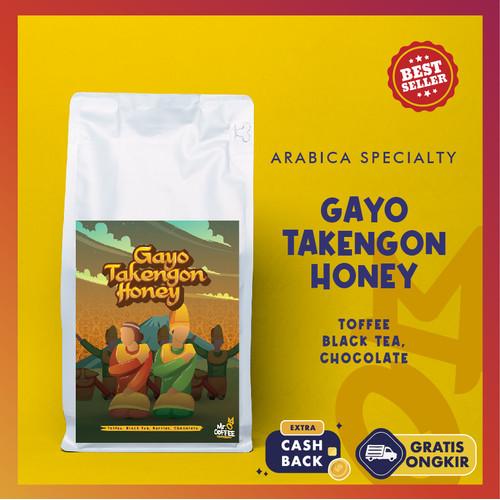 Foto Produk Kopi Arabika GAYO HONEY TAKENGON 500g~Single Origin Specialty - BIJI SANGRAI dari Mr. O Coffee