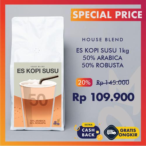 Foto Produk Kopi House Blend 1Kg Es Kopi Susu   Espresso Arabika robusta MroCoffee - BIJI SANGRAI dari Mr. O Coffee