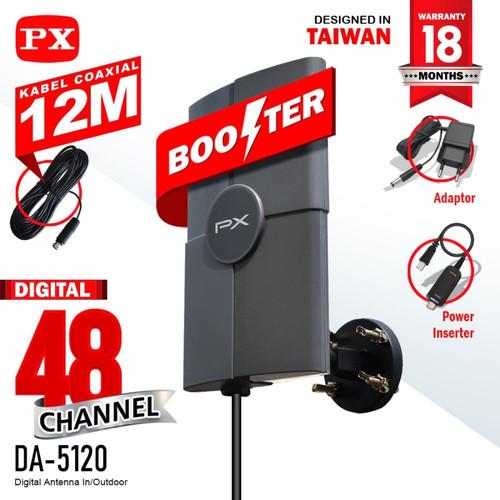 Foto Produk Antena Digital Tv Indoor/Outdoor PX DA-5120 dari Jostul