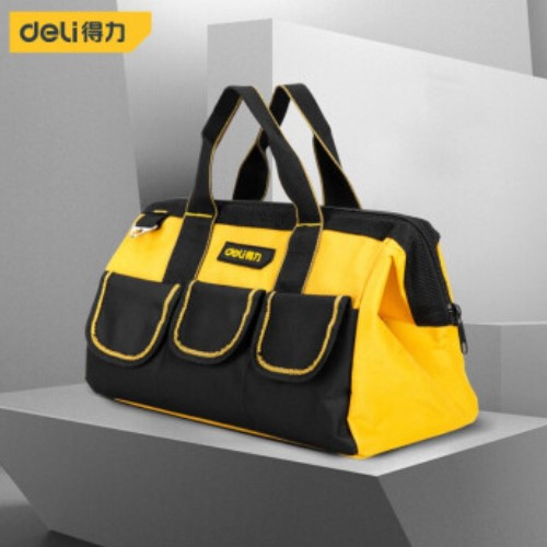 Foto Produk Deli Tool Bag / Tas Perkakas 16 inch Multifungsi Bahan Kuat DL-P2 - 13inch dari Deli Tools Official