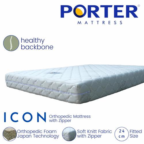 Foto Produk PORTER - ICON Orthopedic Mattress - 160 x 200 dari PORTER Mattress