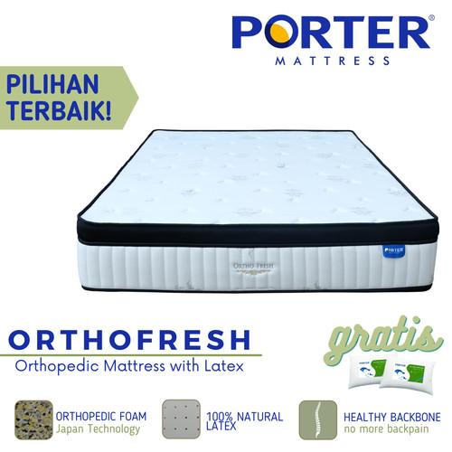 Foto Produk PORTER - ORTHOFRESH Latex Orthopedic Mattress - 120 x 200 dari PORTER Mattress