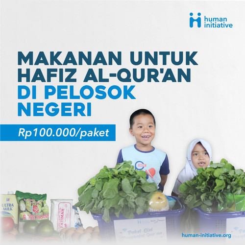Foto Produk Paket Makanan Hafiz Qur'an dari Human Initiative