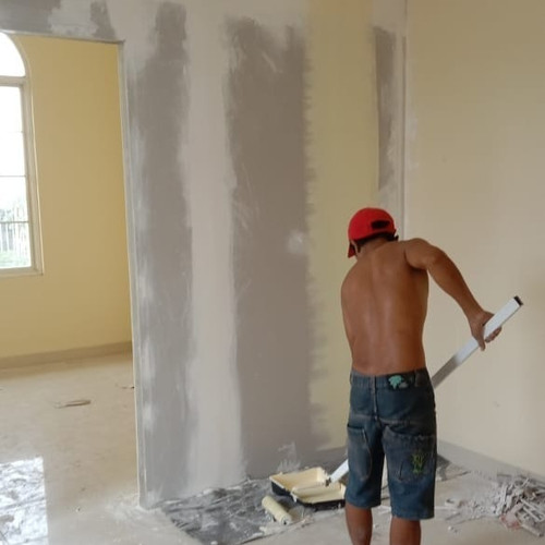 Foto Produk dinding penyekat ruangan dari jasa tukang bangunan cengkareng