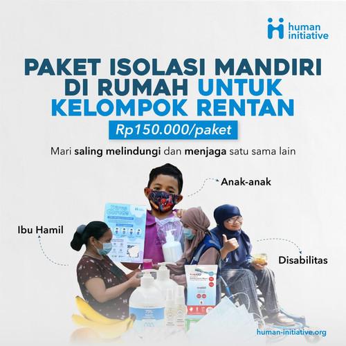 Foto Produk Paket Isoman Makanan Anak/Disabilitas/Ibu Hamil dari Human Initiative