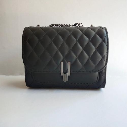 Foto Produk Tas Wanita slempang Tali Rantai Shoulder Bag Cewek Trend Terbaru Sling - Hitam dari Tas Bekal Surabaya
