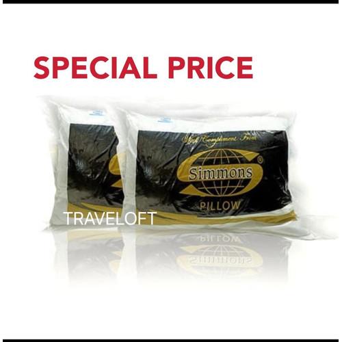 Foto Produk Simmons Bantal Hollow fiber dari Traveloft