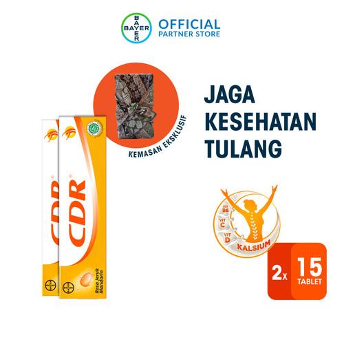 Foto Produk CDR Monthly Box (CDR Rasa Jeruk 15 Tablet x 2 Unit) - Eco Pack dari Bayer Health Partner