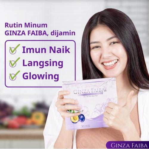 Foto Produk Ginza Faiba Slimming Pelangsing-Diet Detox Minuman Kesehatan dari Kaleena Beauty