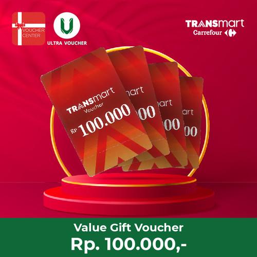 Foto Produk HEMAT Paket Belanja Carrefour & Transmart Rp.100.000 dari Ultra Voucher