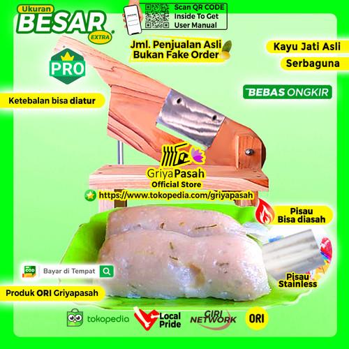 Foto Produk Alat potong kerupuk manual lontong hasil bulat dan memanhang dari Griyapasah Official Store