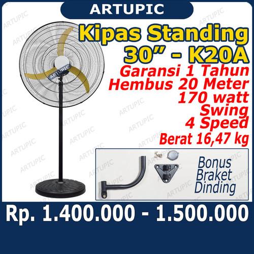 """Foto Produk Kipas STANDING Fan 30 inch merk K20A Kipas Angin Berdiri Standing 30"""" dari ArtupicPeralatanPeternak"""