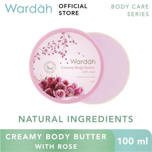Foto Produk Wardah Creamy Body Butter 100 ml - Rose dari Wardah Official