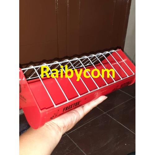 Foto Produk Tempat Makan Koloni Fiber Pakan Burung Merpati Lovebird Ayam Puyuh dari Raibycom