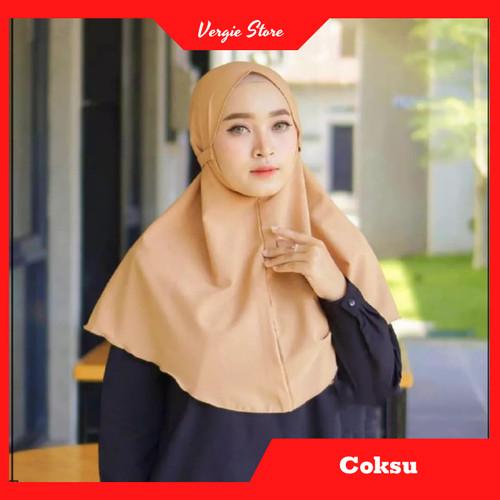 Foto Produk Jilbab Tali AZKIA Instan Termurah Diamond Premium   Hijab Instan Murah - Coksu dari Veergie Store