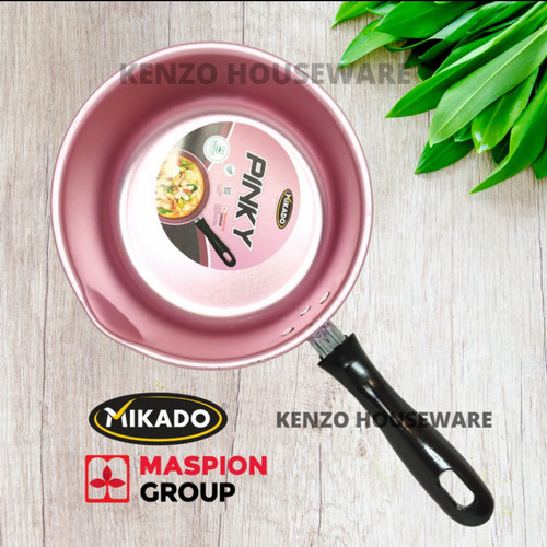 Foto Produk Panci Mie Stainless Stell / Panci Masak Air Mie Kuat Stainless - PINKY dari KENZO Houseware