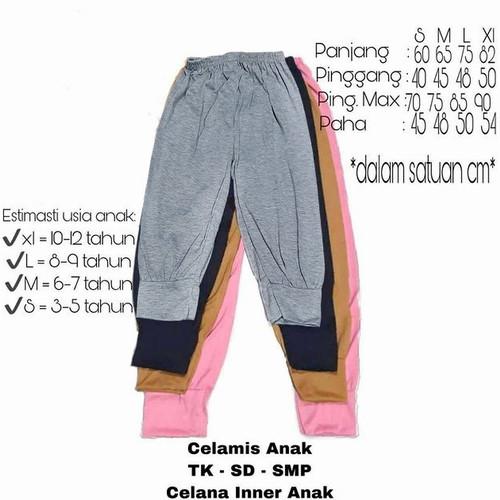 Foto Produk Celamis anak/ Aladin Anak/ Celamis murah - 3-4 tahun, Hitam dari Joshua collection