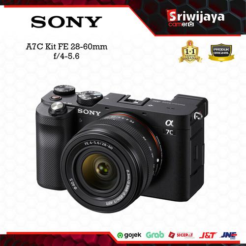 Foto Produk Camera SONY A7C Kit FE 28-60 f/4-5.6 dari Sriwijaya Camera Denpasar