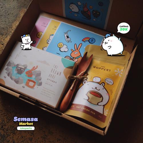 Foto Produk Exclusive SEMASA Market x The Brown Hare Hampers Japanese Chocolate dari The Hoppers