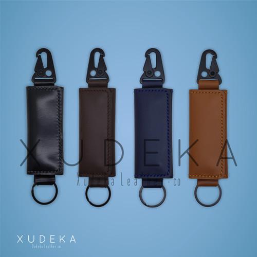 Foto Produk Gantungan Kunci Kulit/Dompet Kulit STNK Mobil dan Motor - Polos Warna dari Xudeka
