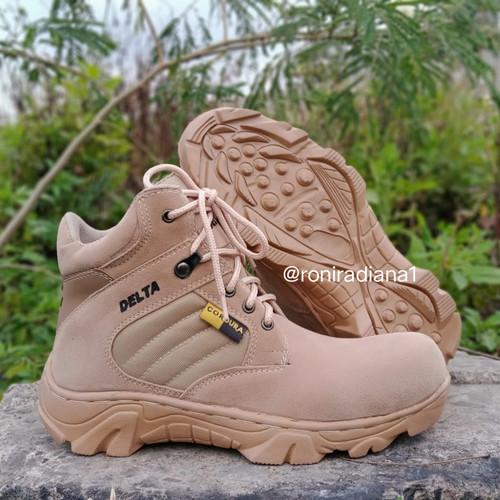 Foto Produk SEPATU DELTA CORDURA HIKING BOOTS OUTDOOR UJUNG BESI 6INC 38-44 - 38 dari Sepatu Gunung98