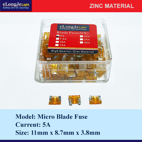 Foto Produk Fuse Blade (DX) Micro 5A (Orange) - Elongje dari Seraya Shop