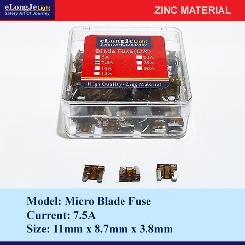 Foto Produk Fuse Blade (DX) Micro 7.5A (Coklat) - Elongje dari Seraya Shop