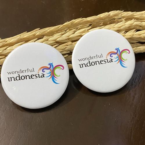 Foto Produk Pin Peniti WONDERFUL INDONESIA - Glossy 44mm dari adrianloa