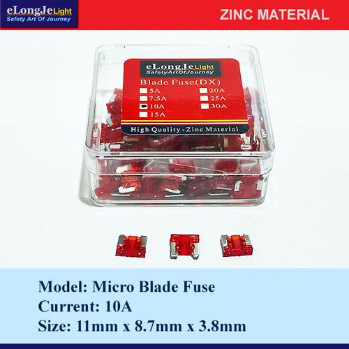 Foto Produk Fuse Blade (DX) Micro 10A (Merah) - Elongje dari Seraya Shop