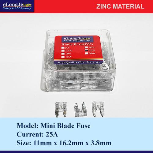 Foto Produk Fuse Blade (DX) Mini 25A (Putih) - Elongje dari Seraya Shop