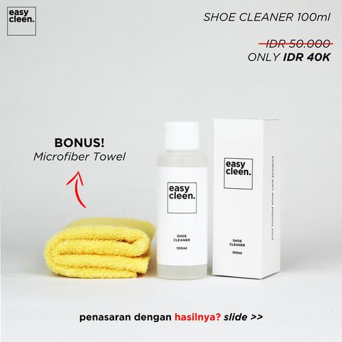 Foto Produk Shoe Cleaner 100ml | Pembersih Sepatu Sabun Cuci Sneakers by EasyCleen dari Easy Cleen Official