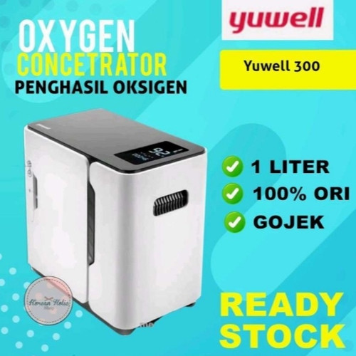 Foto Produk READY STOCK Yuwell 300 1L oxygen concentrator mesin penghasil oksigen - yuwell 300 dari Koreanholicshop