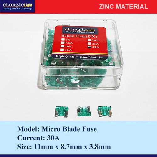 Foto Produk Fuse Blade (DX) Micro 30A (Hijau) - Elongje dari Seraya Shop