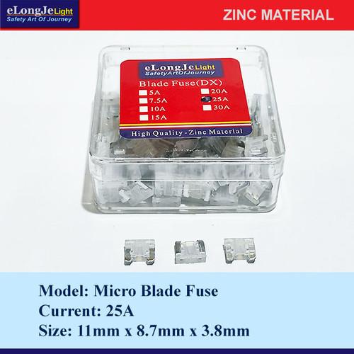 Foto Produk Fuse Blade (DX) Micro 25A (Putih) - Elongje dari Seraya Shop