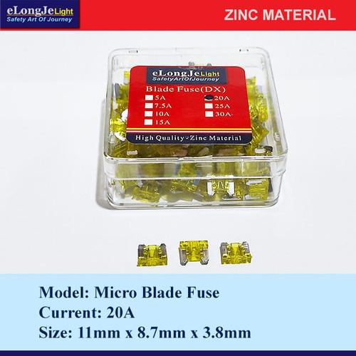 Foto Produk Fuse Blade (DX) Micro 20A (Kuning) - Elongje dari Seraya Shop