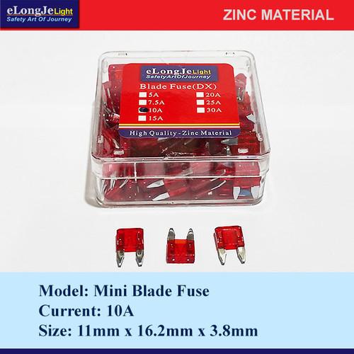 Foto Produk Fuse Blade (DX) Mini 10A (Merah) - Elongje dari Seraya Shop