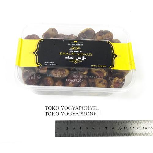 Foto Produk Kurma Khalas AlSaad Asli terbaik murah 500 gram 500gram dari yogyaponsel
