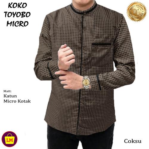 Foto Produk LM 22545-22551 Baju Koko Pria Lengan Panjang TOYOBO MICRO TERMURAH - Coksu Micro, M dari Lobby Mode